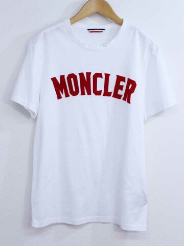 【MONCLER(モンクレール)】2019年製 赤ロゴ MAGLIA Tシャツ